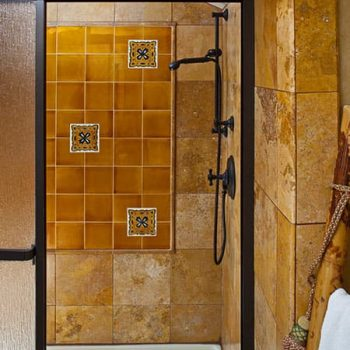 Shower in the Moroccan Suite